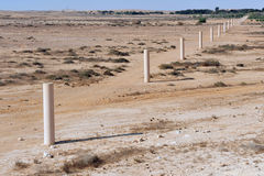 Way of Peace in the Negev Desert Royalty Free Stock Photo
