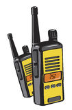2 way radios Royalty Free Stock Photos