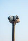 4 way round CCTV Stock Image