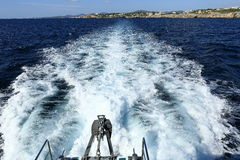 The Way from Sa Coma to the Porto Cristo, Cala Ratjada, Majorca, Spain Stock Images