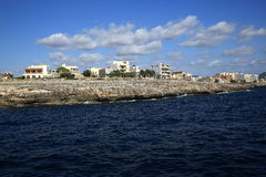 The Way from Sa Coma to the Porto Cristo, Cala Ratjada, Majorca, Spain Stock Photography