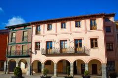 The Way of Saint James in Belorado Castilla. Burgos royalty free stock photography
