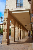 Way Saint James Logrono Arcades Mercado plaza Royalty Free Stock Image