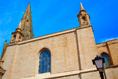 The Way of Saint James in Logrono Santa Maria Royalty Free Stock Photography