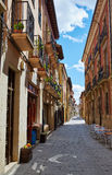 Way of Saint James by Santo Domingo de Calzada Royalty Free Stock Photography