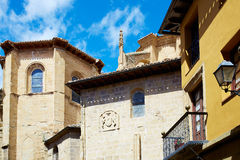 Way of Saint James by Santo Domingo de Calzada Royalty Free Stock Images