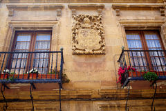 Way of Saint James by Santo Domingo de Calzada Royalty Free Stock Image
