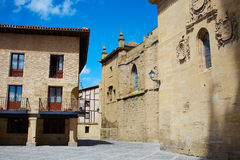 Way of Saint James by Santo Domingo de Calzada Stock Photos