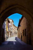 Way of Saint James by Santo Domingo de Calzada Royalty Free Stock Photos