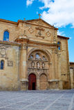 Way of Saint James by Santo Domingo de Calzada Stock Image