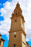Way of Saint James by Santo Domingo de Calzada Stock Photography