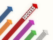 The way of success Royalty Free Stock Photo