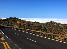 The way on Tenerife, Canary islands Royalty Free Stock Photography