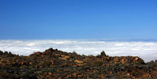 The way on Tenerife, Canary islands Royalty Free Stock Photos