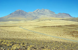 Way to Andes - South America Royalty Free Stock Photography