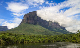 On the way to angel falls, canaima park, gran sabana, venezuela Stock Image