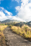 On the way to Batur Volcano in Bali Royalty Free Stock Photos