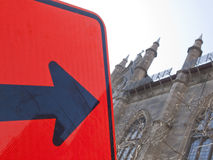 This Way To Church Stock Image