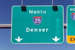 This Way to Denver Stock Photos