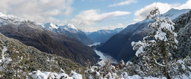 On the way to Doubtful Sound Royalty Free Stock Photography