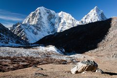 Way to Everest base camp Royalty Free Stock Photos