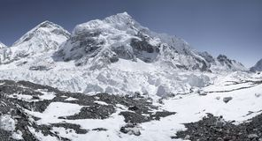 On the way to Everest with khumbu icefall. And base camp. Himalayas Stock Images