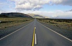 On the way to Glacier Perito Moreno Stock Photos