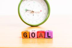 Way in to Goal Stock Photo