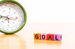 Way in to Goal Royalty Free Stock Photography