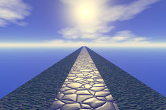 Way to heaven Royalty Free Stock Photography
