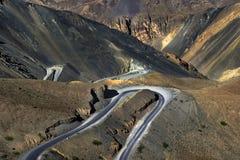 Way to heaven roadscape near kargil