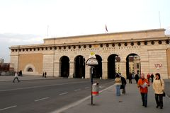 Way to Hofburg, the central area of Vienna Royalty Free Stock Photos