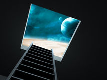 Way to imagination Stock Photography