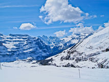 Way to Jungfraujoch Royalty Free Stock Photo