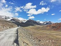 The way to Ladakh royalty free stock images
