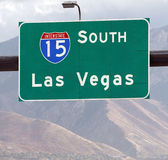 This Way to Las Vegas Royalty Free Stock Photo