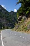 Way to Mestia. The way to Mestia in Georgia, Swaneti Region Royalty Free Stock Photography