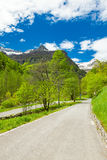Way to monte zucchero and rasiva. View of the monte zucchero and rasiva Royalty Free Stock Photos