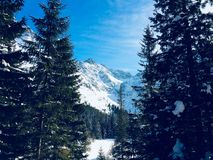 Snowy High Tatras Stock Photo