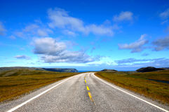 On the way to nordkapp Royalty Free Stock Image