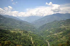 On the way to North Sikkim Royalty Free Stock Photography
