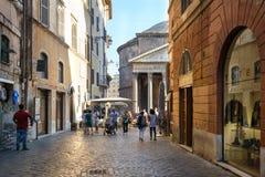 Way to Pantheon Royalty Free Stock Image