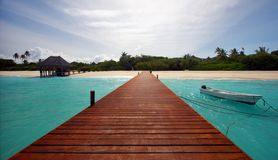 Way to Paradise Stock Images