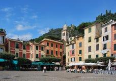 On the way to Portofino, Liguria, Italy Royalty Free Stock Photos