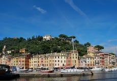 On the way to Portofino, Liguria, Italy Stock Photo