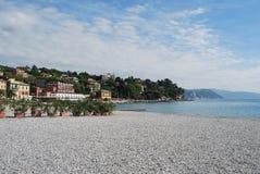 On the way to Portofino, Liguria, Italy Stock Images