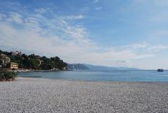 On the way to Portofino, Liguria, Italy Royalty Free Stock Photo