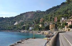 On the way to Portofino, Liguria, Italy Stock Photography