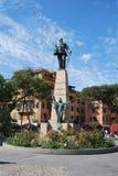 On the way to Portofino, Liguria, Italy Stock Photos