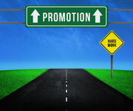 Way to Promotion Royalty Free Stock Photo